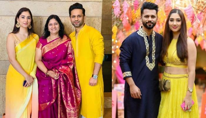 राहुल वैद्य ने दिशा परमार संग मनाया 'गुड़ी पड़वा', होने वाली बहू को सिंगर की मां ने दिया ये तोहफा