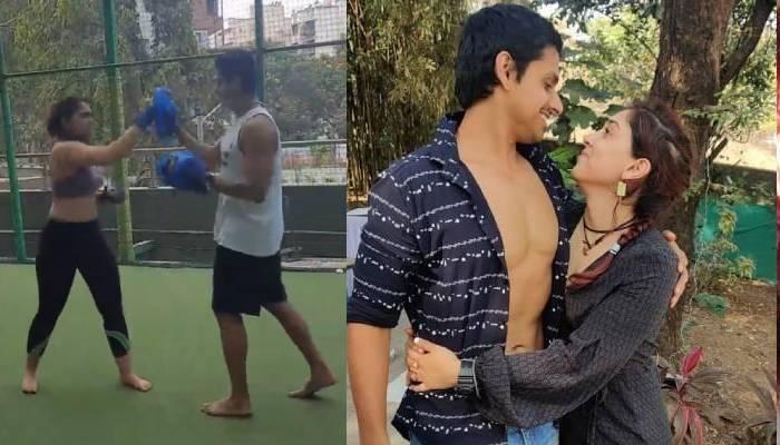 इरा खान बॉयफ्रेंड नुपुर शिखरे से सीख रहीं बॉक्सिंग, वीडियो में दिखा दोनों का प्यार