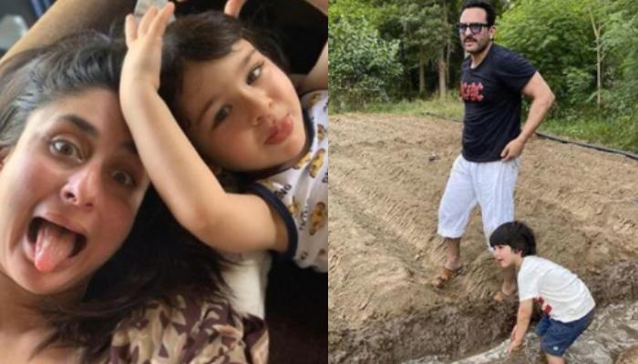 सैफ अली खान बेटे तैमूर के साथ खेती करते आए नजर, वाइफ करीना कपूर ने शेयर कीं फोटोज