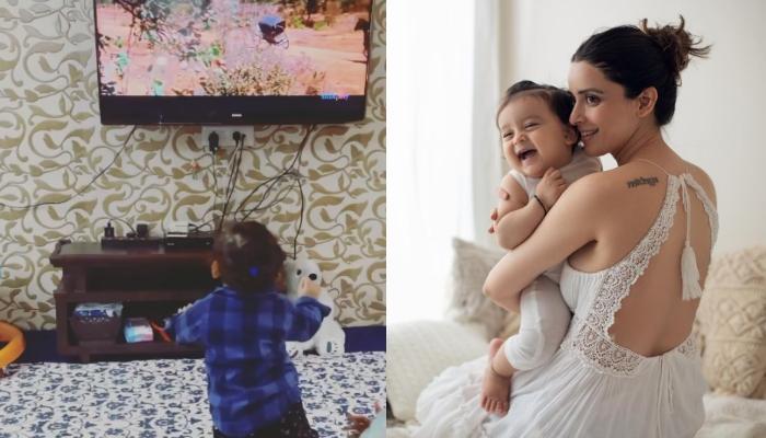 एकता कौल के बेटे ने देखी हेमा मालिनी की फिल्म 'शोले', मजेदार रिएक्शन देते दिखे वेद