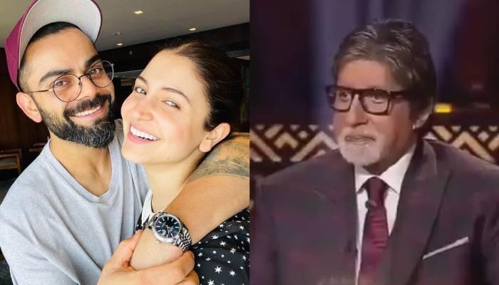 जब अमिताभ बच्चन ने अनुष्का शर्मा से विराट के बारे में कही थी ये बात, शर्म से लाल हो गई थीं एक्ट्रेस