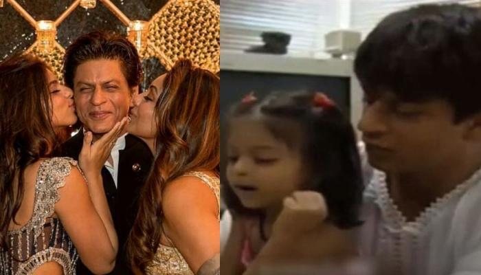 जब नन्ही सुहाना ने चिल्लाकर बताया था कैसे शाहरुख खान को बुलाती हैं गौरी, देखें मजेदार वीडियो