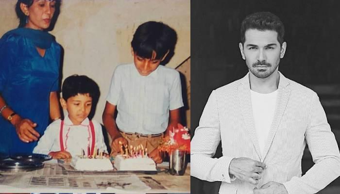 अभिनव शुक्ला ने अपने बचपन के बर्थडे सेलिब्रेशन की अनदेखी फोटो की शेयर, मां-भाई संग दिखे एक्टर