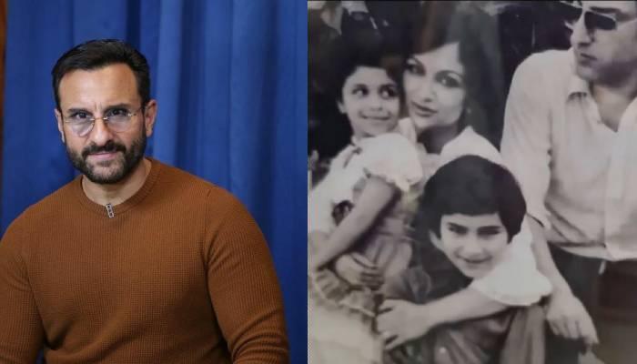 सैफ अली खान के बचपन की अनदेखी तस्वीर आई सामने, बेटे को प्यार से निहारती दिखीं शर्मिला टैगोर