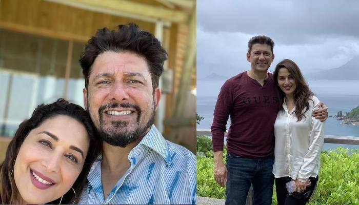 माधुरी दीक्षित के पति श्रीराम नेने ने पत्नी संग फोटो शेयर कर लोगों से की ये खास अपील