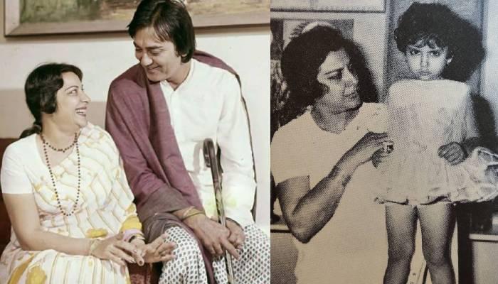 नरगिस दत्त की बेटी नम्रता के साथ अनदेखी तस्वीर आई सामने, मां का हाथ पकड़े दिखीं संजय दत्त की बहन