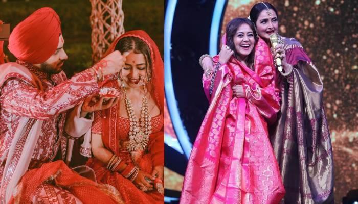 एक्ट्रेस रेखा ने नेहा कक्कड़ को दिया शादी का तोहफा, सिंगर बोलीं- 'खुशी शब्दों में बयां नहीं कर सकती'