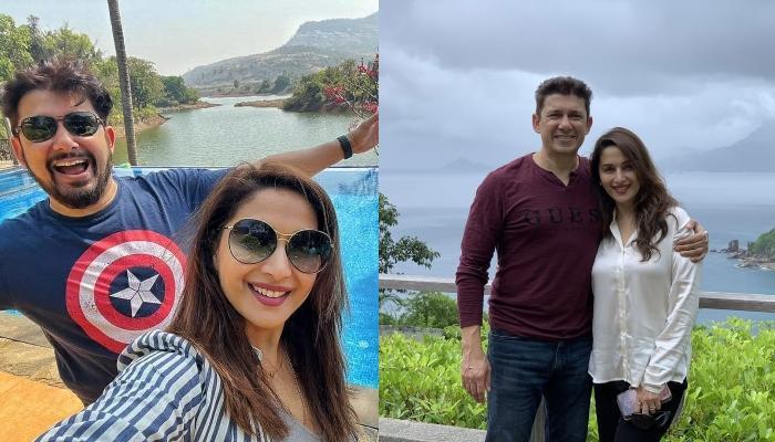 माधुरी दीक्षित ने पति श्रीराम नेने के साथ मालदीव में किया रोमांटिक डिनर, देखें तस्वीरें