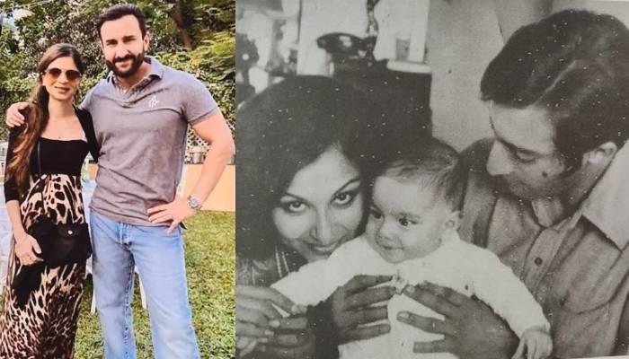 बहन सबा ने सैफ के बचपन की अनदेखी फोटो की शेयर, अब्बू मंसूर अली खान की गोद में दिखे 'छोटे नवाब'