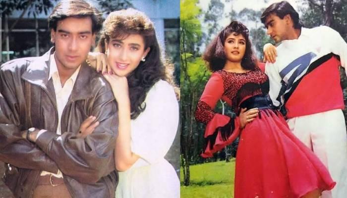 करिश्मा कपूर और रवीना टंडन से अजय देवगन का था अफेयर, एक से तो करने वाले थे शादी, जानें इस बारे में