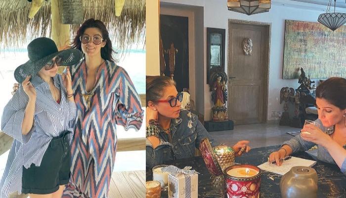 मां डिंपल कपाड़िया और बहन रिंकी संग ट्विंकल खन्ना ने शेयर की थ्रोबैक फोटो, काफी खुश लग रहीं मां-बेटी
