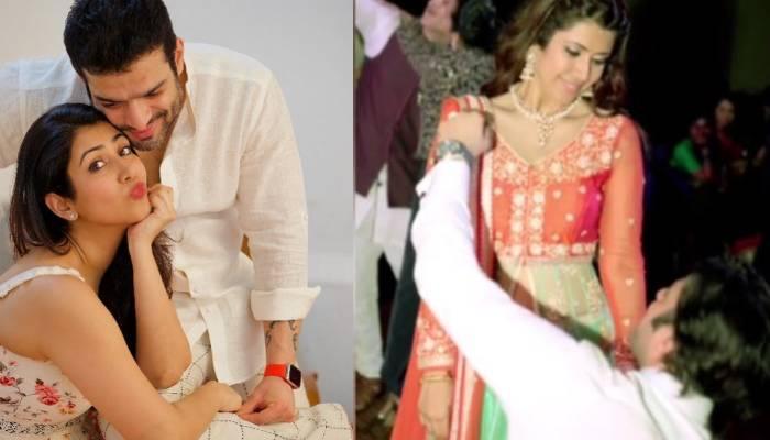 अंकिता भार्गव ने अपनी सगाई का वीडियो किया शेयर, पति करण संग रोमांटिक पोज देती दिखीं एक्ट्रेस