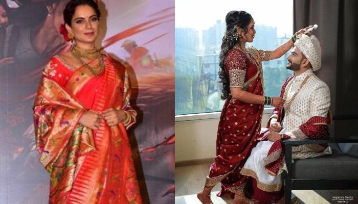 इस दुल्हन ने अपनी शादी में 'मणिकर्णिका' के लुक को किया था कॉपी, 'बाजीराव' की तरह दिखे दूल्हेराजा