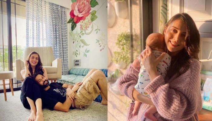 तीन महीने का हुआ नकुल मेहता का बेटा, एक्टर की वाइफ जानकी ने शेयर कीं सूफी के जन्म के समय की फोटोज