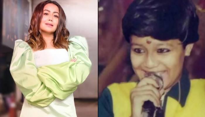 नेहा कक्कड़ ने अपने बचपन की फोटो की शेयर, पापा-भाई और मां संग जगराता में गाती दिखीं सिंगर