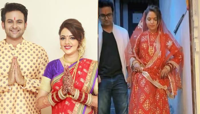 सुगंधा मिश्रा का ससुराल में ऐसे हुआ स्वागत, सामने आईं रिंग ढूंढने वाली रस्म व शादी के बाद की झलकियां