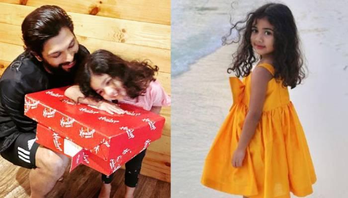 अल्लू अर्जुन की बेटी अरहा ने अपने नाना के लिए बनाया डोसा, एक्टर ने शेयर किया क्यूट वीडियो