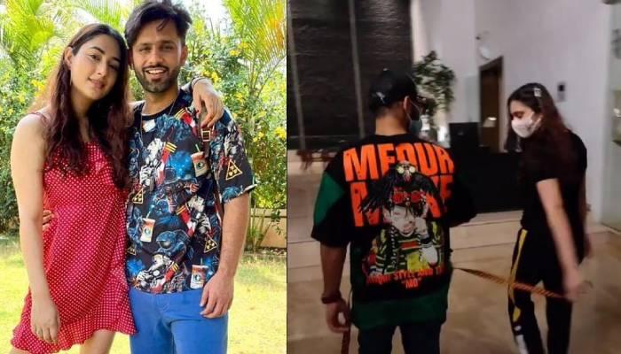राहुल वैद्य को 'खतरों के खिलाड़ी' में नहीं जाने देना चाहती GF दिशा, सिंगर ने वीडियो शेयर कर दिखाई झलक