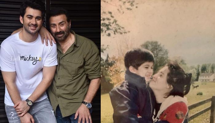सनी देओल के बेटे करण ने मां पूजा देओल को विश किया 'मदर्स डे', शेयर कीं बचपन की तस्वीरें