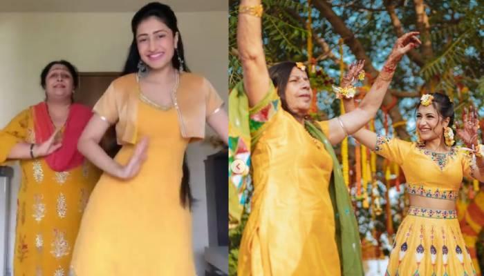 धनश्री वर्मा ने मां और सासू मां संग डांस करते हुए शेयर कीं फोटोज, शादी की रस्मों की भी दिखाई झलक