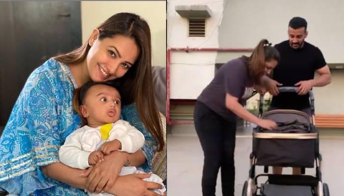 अनिता हस्सनंदनी बेबी आरव के साथ करती हैं एक्सरसाइज, एक्ट्रेस ने वीडियो शेयर कर दिखाई झलक