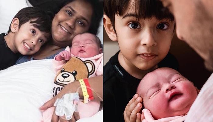 आयत पर कुछ यूं प्यार लुटाते नजर आए नन्हें आहिल, मम्मी अर्पिता खान ने शेयर की भाई-बहन की क्यूट फोटो