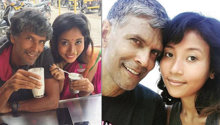 पत्नी अंकिता कुंवर संग कुछ यूं रोमांटिक हुए पूर्व सुपरमॉडल मिलिंद सोमन, इस तरह जाहिर किया अपना प्यार