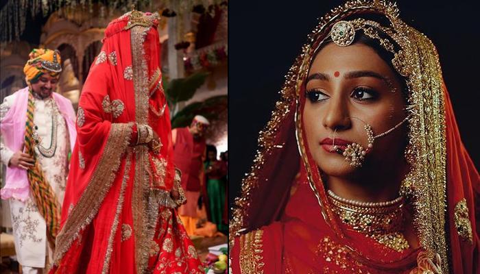 'ये रिश्ता क्या कहलाता है' की मोहिना कुमारी ने सब्यसाची का लाल जोड़ा पहन ढाया कहर, देखिए तस्वीरें