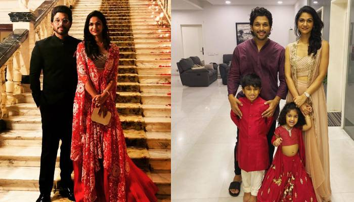 साउथ एक्टर अल्लू अर्जुन की पत्नी और बच्चे हैं बेहद खूबसूरत, एक्टर ने शेयर की फैमिली फोटो