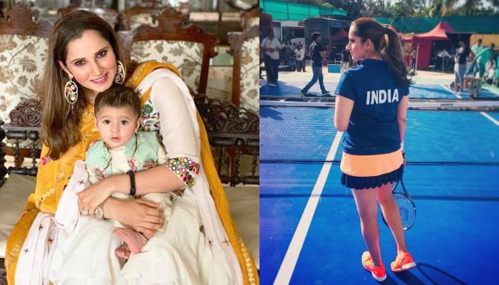 सानिया मिर्जा ने मां बनने के दो साल बाद की दमदार वापसी, बेटे इजहान मलिक ने यूं बढ़ाया मम्मी का हौसला