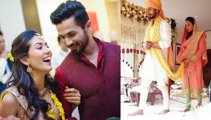 शाहिद कपूर के लिए मीरा ने लिखा प्यार भरा संदेश, मैरिज एनिवर्सरी पर देखें शादी की अनदेखी फोटोज