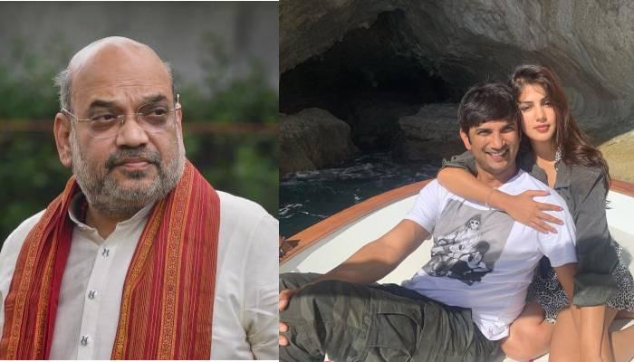 रिया चक्रवर्ती ने सुशांत सिंह राजपूत सुसाइड केस में गृहमंत्री अमित शाह से की CBI जांच की मांग
