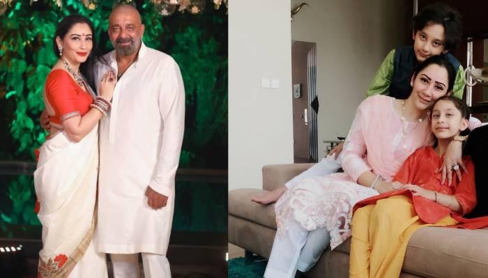संजय दत्त की पत्नी मान्यता ने शेयर की बच्चों की क्यूट फोटो, मांगा 'गणपत्ति बप्पा' से आशीर्वाद