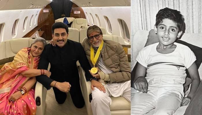 अभिषेक बच्चन के 'मुंडन' की अनदेखी फोटो आई सामने, अपने मम्मी-पापा के साथ बहुत खुश दिखे 'जूनियर बच्चन'