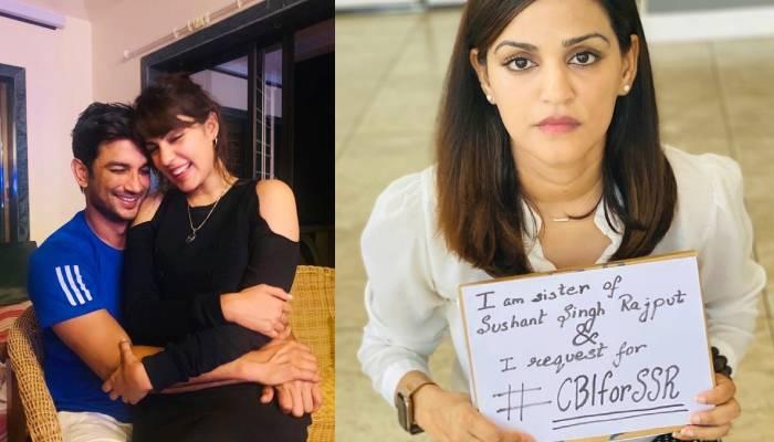 रिया चक्रवर्ती के आरोपों पर सामने आई सुशांत की बहन श्वेता सिंह कीर्ति, सबूतों के साथ दिया जवाब