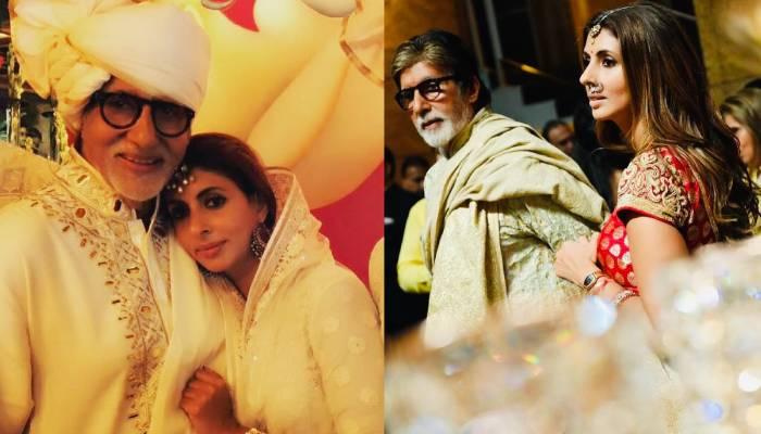 श्वेता बच्चन ने शेयर की पिता अमिताभ बच्चन की ऐसी तस्वीर, देखकर फैंस हो गए दीवाने
