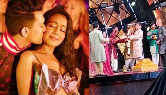नेहा कक्कड़ और आदित्य नारायण ने की शादी, देखिए कैसे एक-दूसरे को पहनाते नजर आए वरमाला