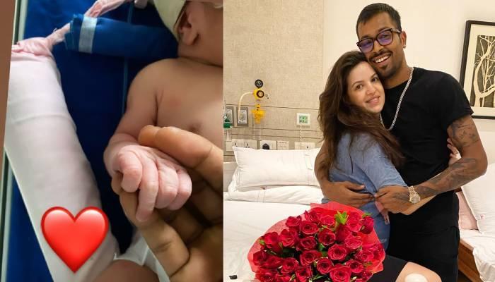 हार्दिक पांड्या और नताशा ने हॉस्पिटल से शेयर की ये खास तस्वीर, दोनों ने लिखा प्यार भरा मैसेज