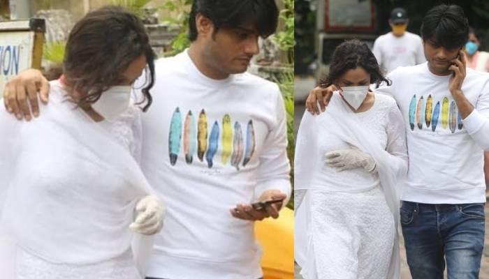 एक्स गर्लफ्रेंड अंकिता लोखंडे पहुंची एक्टर सुशांत सिंह राजपूत के घर, देखें वीडियो