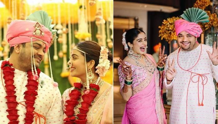 नेहा पेंडसे ने बॉयफ्रेंड शार्दुल ब्यास संग लिए सात फेरे, यहां देखिए शादी की अनदेखी तस्वीरें