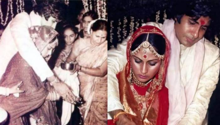 ये हैं अमिताभ बच्चन की शादी की अनदेखी तस्वीरें, ऐसे हुई थी 'चट मंगनी-पट ब्याह'