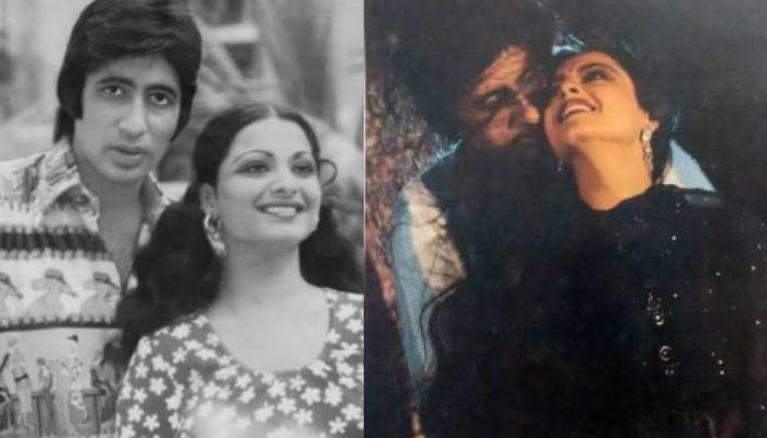 बॉलीवुड के महानायक अमिताभ बच्चन और रेखा के पहली मुलाकात की तस्वीर आई सामने, यहां देखें