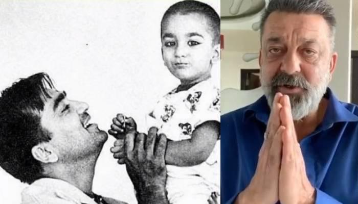 सुनील दत्त की जयंती पर बेटे संजय दत्त को आई पापा की याद, फोटो शेयर कर लिखी ये बात