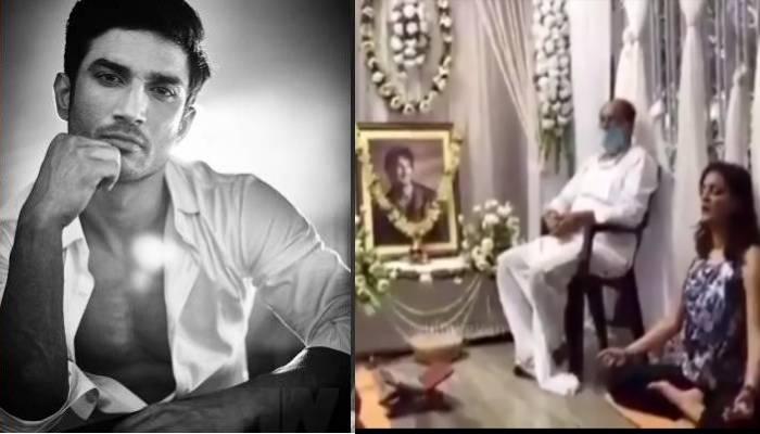 सुशांत सिंह राजपूत का परिवार अपने लाडले को ऐसे दे रहा श्रद्धांजलि, देखें वीडियो