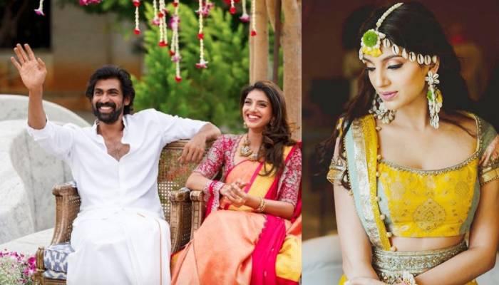 राणा डग्गुबती और मिहिका बजाज की शादी की रस्में हुईं शुरू, यहां देखें हल्दी-मेहंदी की तस्वीरें