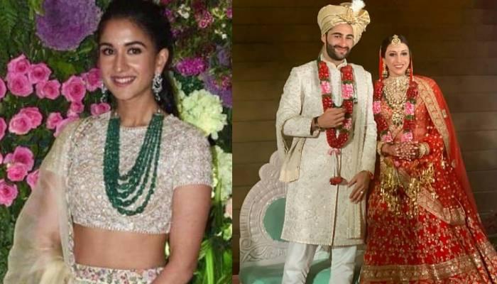 अरमान जैन और अनीसा मल्होत्रा की शादी में राधिका मर्चेंट लगीं बेहद खूबसूरत, देखिए शानदार तस्वीरें