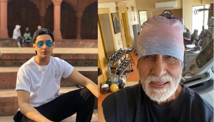 77 की उम्र में फिट अमिताभ बच्चन ने नाती अगस्त्य नंदा के साथ किया वर्कआउट, देखें फोटो
