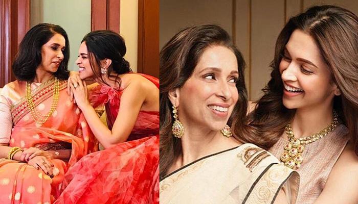 दीपिका पादुकोण ने मां और बहन के साथ शेयर की अपनी शादी के अलबम से अनदेखी तस्वीर