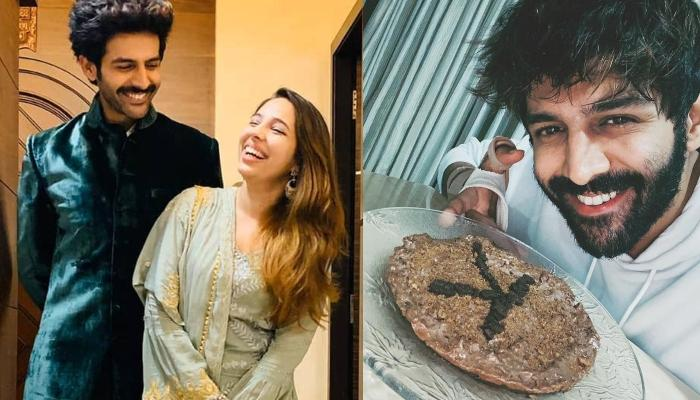 कार्तिक आर्यन ने अपनी दीदी कृतिका के बर्थडे पर बनाया लाजवाब केक, प्यारी बहना हो गई खुश