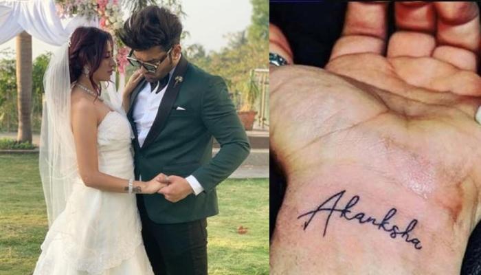 हाथ में बने एक्स गर्लफ्रेंड आकांक्षा पुरी के नाम का टैटू जल्द हटा देंगे पारस छाबड़ा, कही ये बात